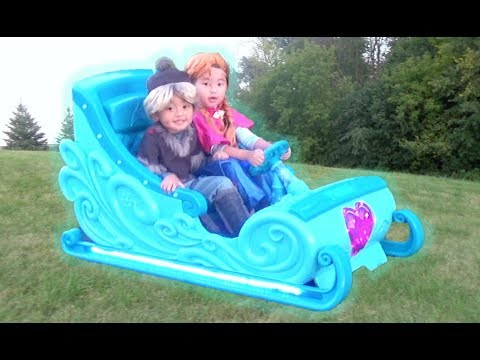 Disney Frozen Sleigh Ride-On Power Wheel