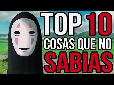 10 Cosas Que No Sabias De EL VIAJE DE CHIHIRO l TOP