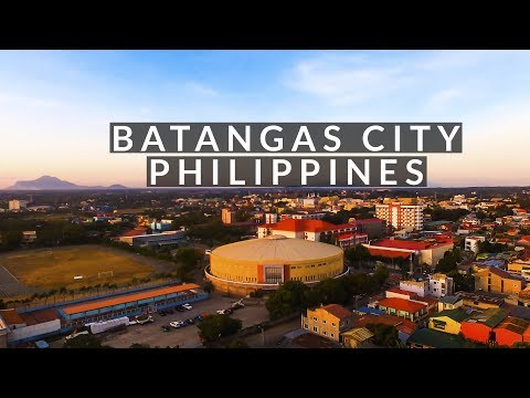 Drone Footage of Batangas City Coliseum 2017