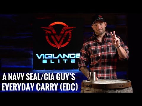 What Does A Navy SEAL / CIA Guy Everyday Carry (EDC)?