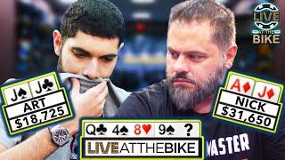 Nick Vertucci Goes For Glory ♠ Live at the Bike!