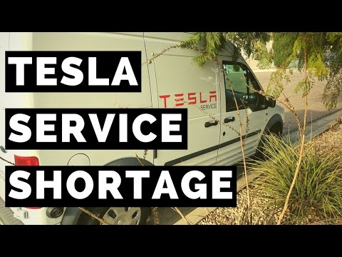 How will the Model 3 effect the Tesla Service Centers, and what is Tesla doing to prepare?