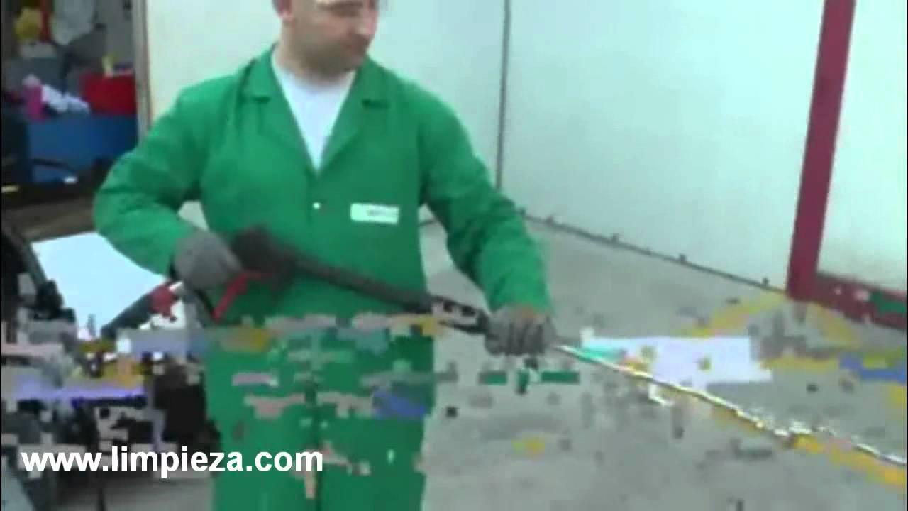 Limpieza com gama absolute hidrolimpiadoras de ipc youtube - Limpieza de madera barnizada ...
