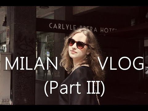 Competition For a Prostitute, No Wine Opener, Everything About Fashion   MILAN VLOG