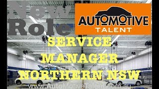 👨🏻💼🔧DEALERSHIP SERVICE MANAGER - NORTHERN NSW🔧👨🏻💼