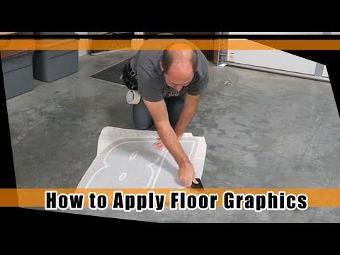 How to Apply Floor Decals