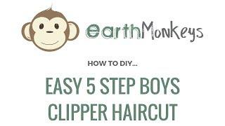 Easy 5 Step Boys Clipper Haircut