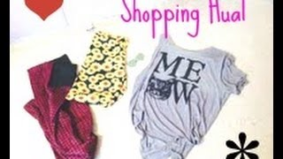 Shopping Haul Thumbnail
