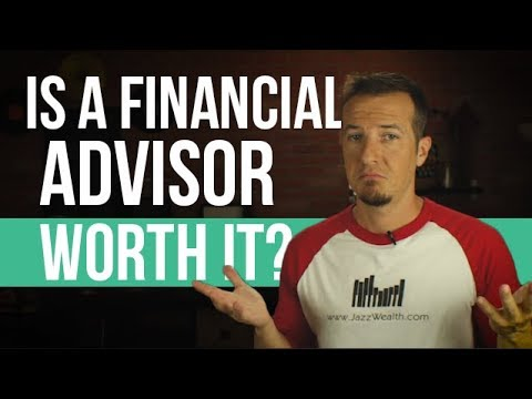 Should you consider using a financial advisor like jazz?