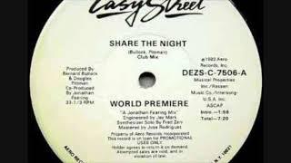 Gambar cover World Premiere -  Share The Night (David J Bull ReTwEAK)