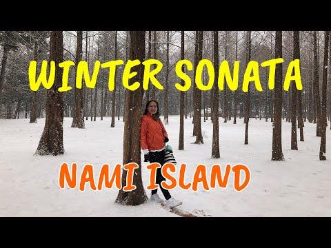 #KOREAVLOG WINTER SONATA IN NAMI ISLAND SOUTH KOREA