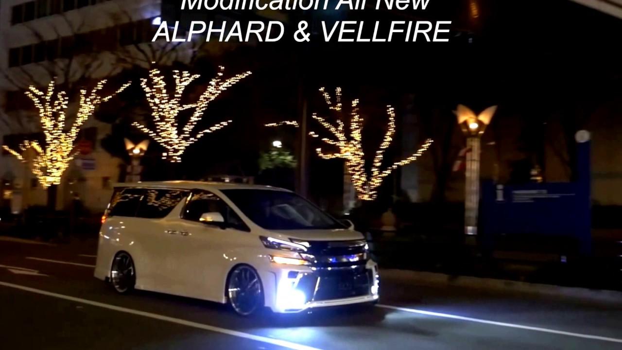 650 Mobil Alphard Modifikasi Keren HD Terbaru