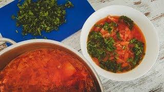 Рецепт Вкусного Борща. Как приготовить Борщ
