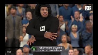 When You Unlock Hoodie Melo in NBA 2K18