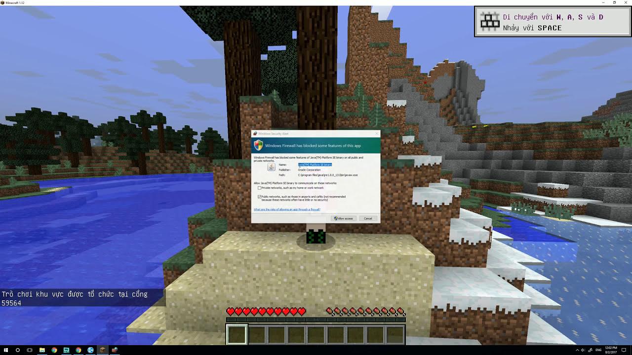 Hướng dẫn tải và cài đặt game Minecraft (100% thành công)
