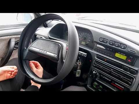 Заплетаем руль ВАЗ-2114 новым способом.