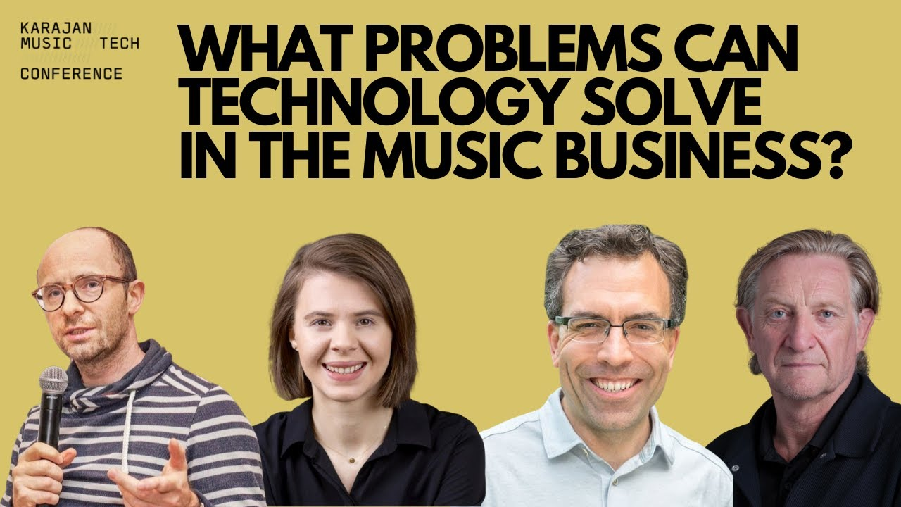 What problems can Technology solve in the Music Business?
