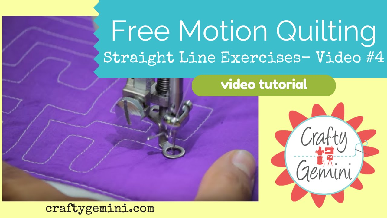 Video tutorial: daisy love | longarm/fmq quilting tips and tutes.