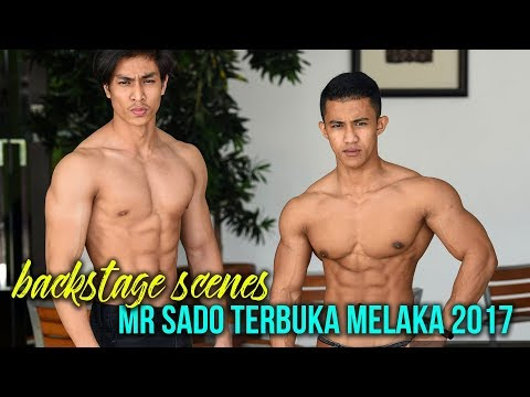 MR SADO TERBUKA MELAKA 2017: Backstage Scenes