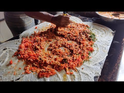 MASTER of DOSA | BIG Dosa Making & Throwing Skills | Indian Street Food