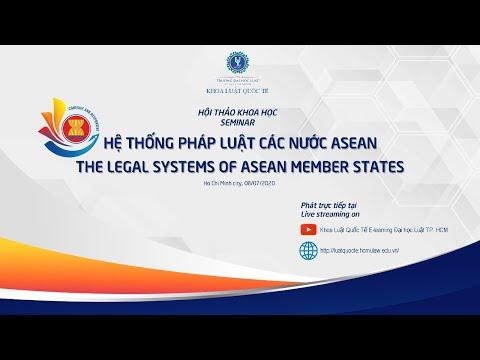 """Hội thảo """"Hệ thống pháp luật các nước ASEAN - The legal systems of Asean Member States"""""""