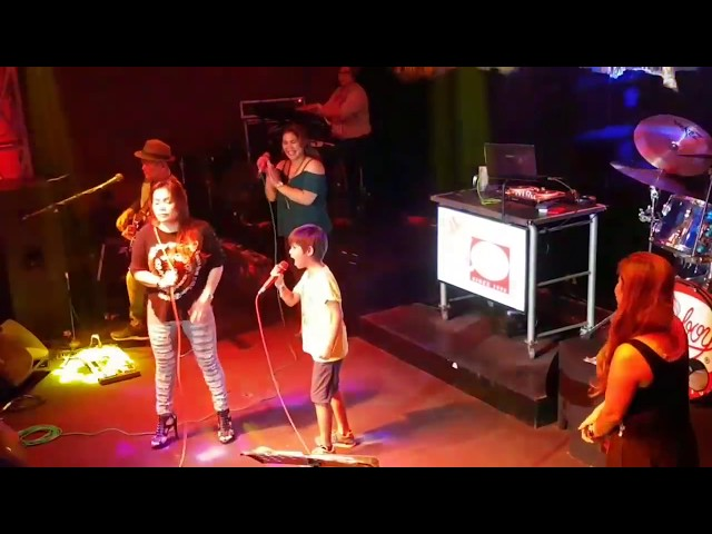 John Kenneth sings with AEGIS