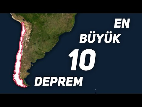 Dünya'da Yaşanmış En Büyük 10 Deprem (Haritalı Anlatım)