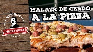 Malaya de Cerdo a la Pizza  -  Recetas del Sur