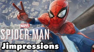 Marvel's Spider Man - The Kingpin Of Spidey Games (Jimpressions) (Video Game Video Review)