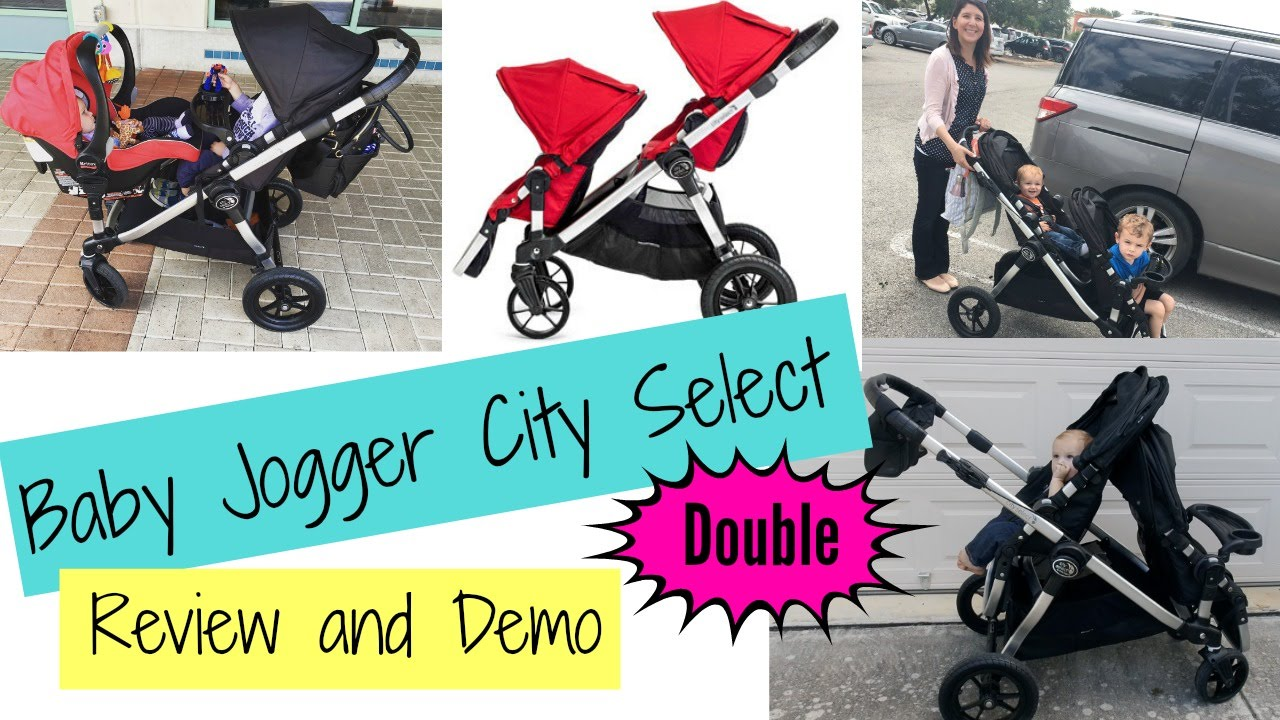 Double Stroller Baby Jogger City Select Double Stroller Review