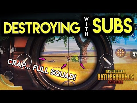 POWERBANG SQUADS WITH SUBS! Let's HUNT! PUBG Mobile