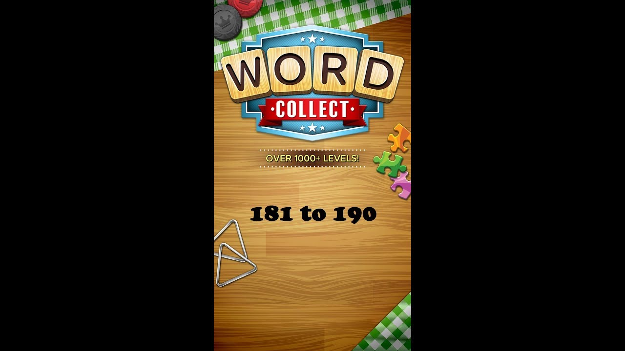 Word Collect Level 131 132 133 134 135 136 137 138 139 140 By Puzzlesolver