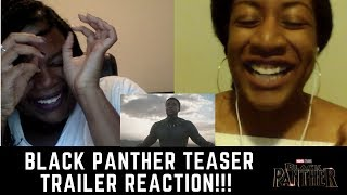 Black Panther Teaser Trailer  REACTION!!!