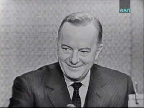 What's My Line? - Maurice Evans; Alan King [panel] (Nov 27, 1960)