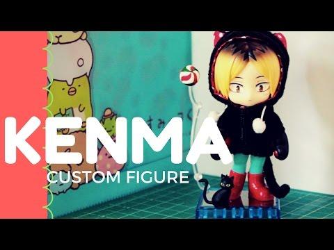 Cu-poche/Nendoroid Mod Tutorial & Kenma Kozume Box Opening