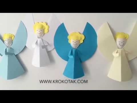 How to Make Christmas Angels | ANGELS with plastic spoons - YouTube