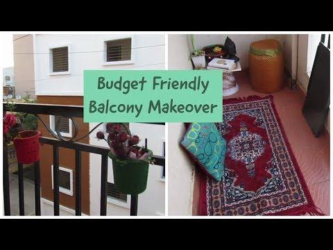 Budget Friendly Balcony Makeover | Small Indian Balcony |Simple DIY Balcony Decoration Ideas
