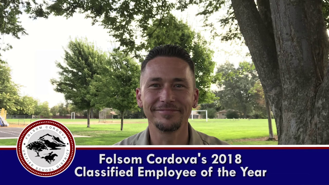 Classified Employee of the Year 2018