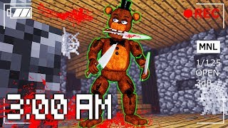 DO NOT PLAY MINECRAFT FNAF AT 3:00 AM (TOP SECRET RECORDING)