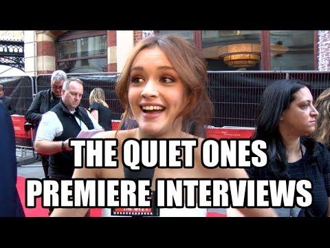 The Quiet Ones Premiere s  Sam Claflin, Olivia Cooke, Rory Fleck Byrne, John Pogue