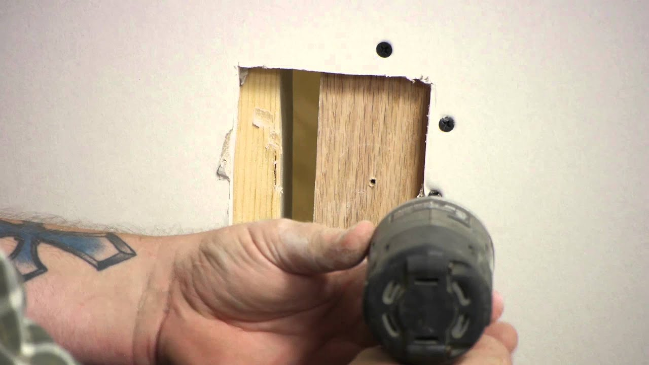 How To Replace Damaged Drywall Wall Repair You