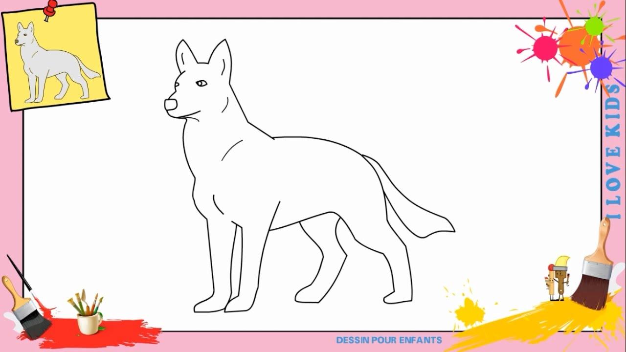 Dessin loup comment dessiner un loup facilement etape par etape pour enfants youtube - Comment dessiner un diable facilement ...