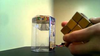 40th anniversary wood rubiks cube review