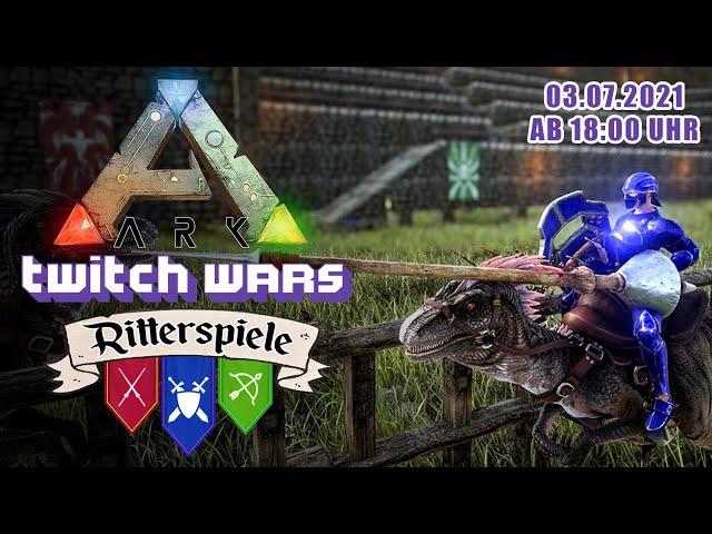 Die Ritterspiele: Lanzenstechen 🦖 ARK Twitch Wars #05 [Lets Play Deutsch]