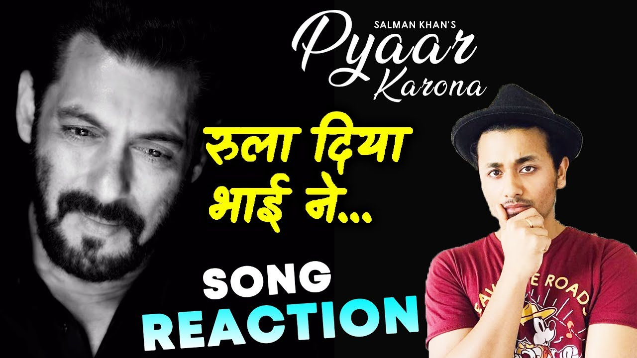 Pyaar Karona Video Song Reaction | Review | Salman Khan | Sajid Wajid