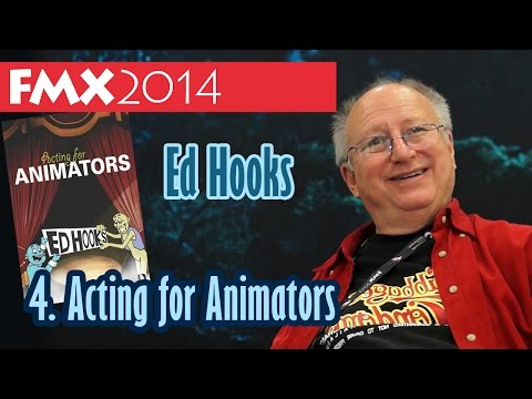 Interview: Ed Hooks Acting for Animators FMX 2014