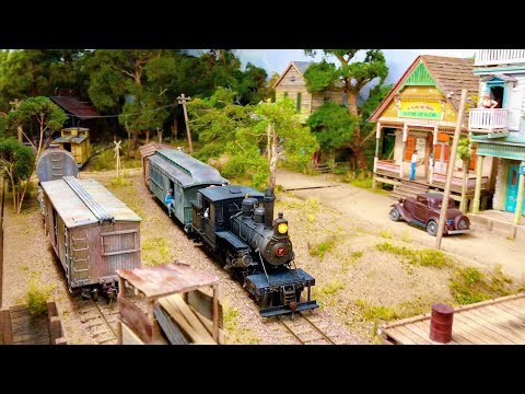 One Of The Best and Most Detailed Model Railroad Layouts in HO Scale in the World 4K UHD
