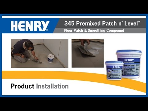 Henry 174 345 Premixed Patch N Level Youtube