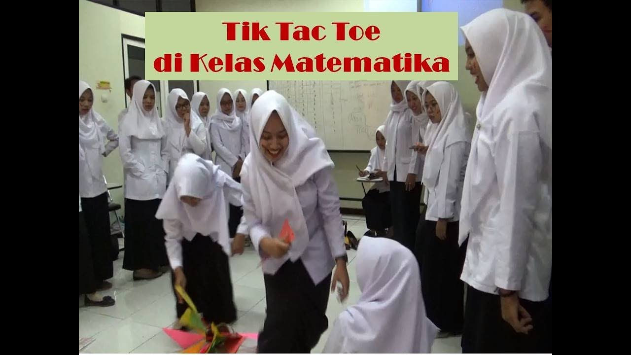Battle Tim In Mathematics Class Suasana Pembelajaran Matematika Jadi Memanas Gegara Tic Tac Toe Youtube