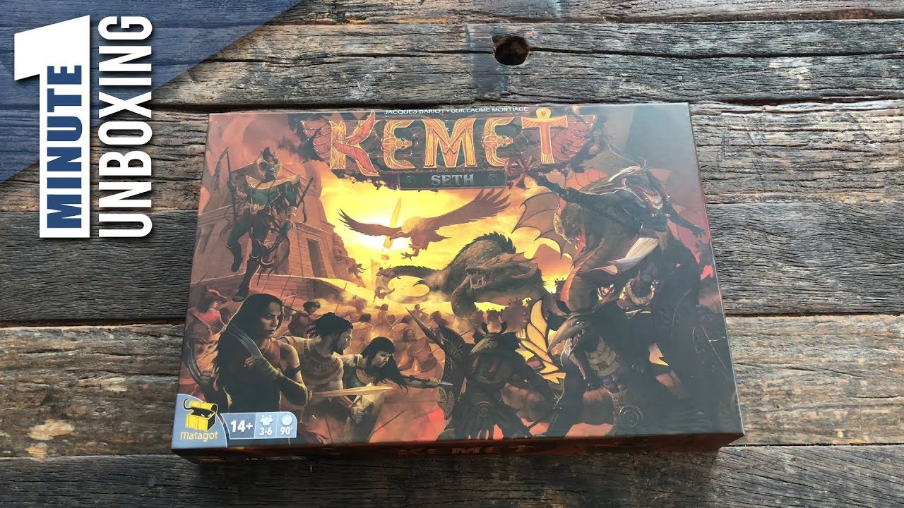 Matagot New Board Game Kemet C3K Creatures Crossover Cyclades